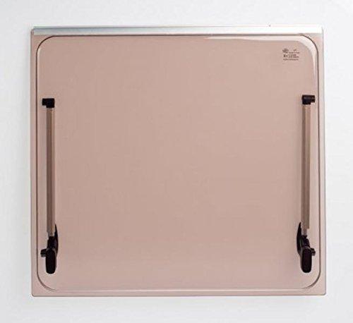 Color: Bronce Autocaravana Vidrio de recambio 568x534 para ventana Seitz 600x600 Accesorios incluidos