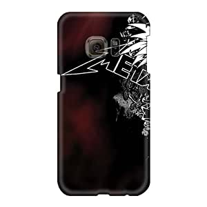 Protective Hard Phone Case For Samsung Galaxy S6 With Customized Vivid Megadeth Band Image Marycase88