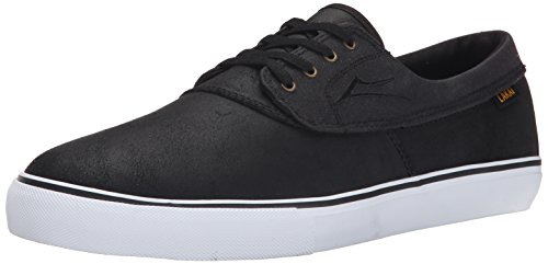 Lakai Men's Camby Skate Shoe, Black Oiled Suede, 5 M US Camby-M