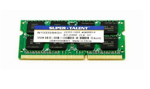 Super Talent DDR2-800 SODIMM 1GB/128x8 Hynix Chip Notebook -