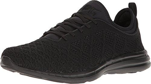 APL: Athletic Propulsion Labs Men's TechLoom Phantom Running Sneakers, Black/Black, 8 D(M) US