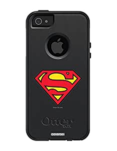 Coveroo Superman Design OtterBox Commuter Series Case for iPhone 5/5s - Retail Packaging - Black