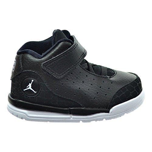 Nike Jordan Toddlers Jordan Flight Tradition Bt White/Black Basketball Shoe 4 Toddler US by Jordan