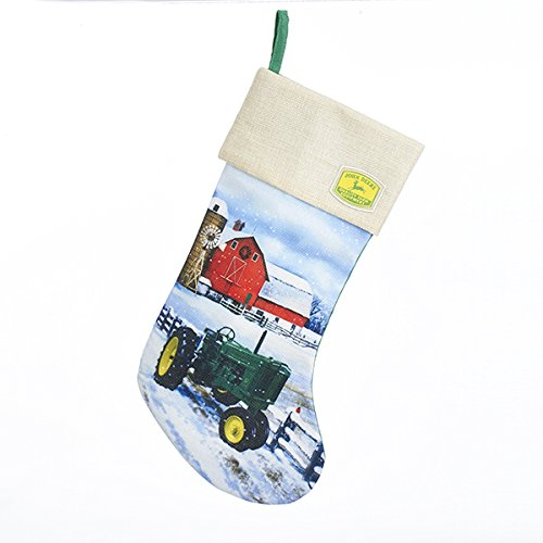 John Deere Stocking Holder - Kurt Adler John Deere Stocking