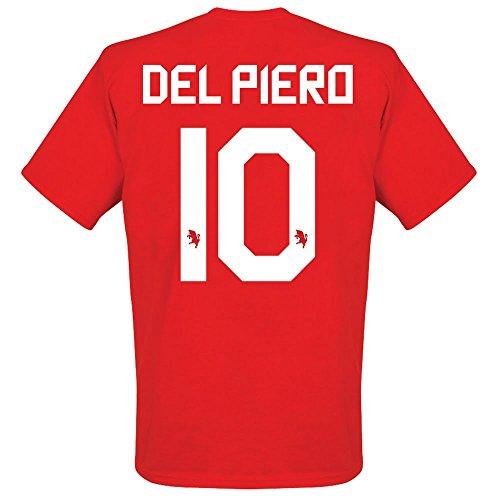 30 Sul Campo Del Piero T-shirt - rot