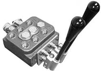 10GPM 4000PSI Hydraulic Loader Directional Control Valve LV22RFSTKAB Joystick Regen