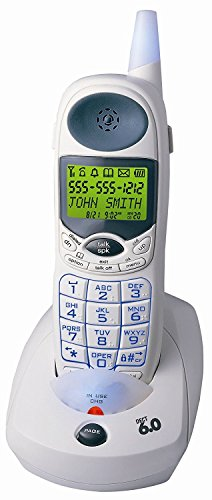 (Northwestern Bell DECT 6.0 Technology, Increased Clarity, Big Button, Caller ID, 50 Number Phone book Memory Cordless Handset Speakerphone)