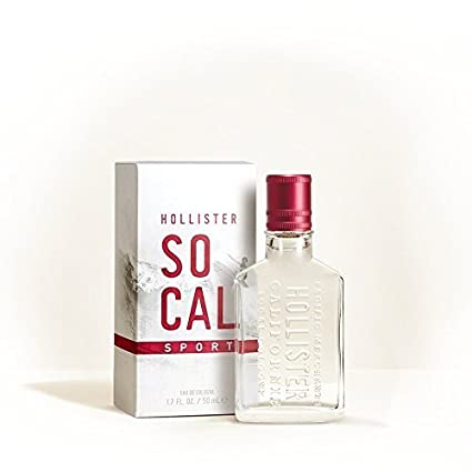 Hollister Co. Socal Sport para hombre de Colonia 1,7 FL oz/50