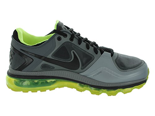Nike Tränare 1,3 Max + Löparskor Stealth / Svart / Kyler Grå / Volt