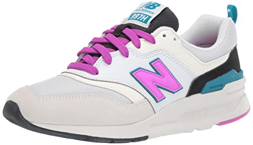 New Balance Women's 997h V1-Sneakers, SEA Salt/Peony, 7.5 B US