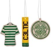 Celtic FC Air Fresheners (Pack Of 3) (One Size) (Green)