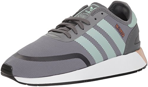 adidas Originals Women's Iniki Runner CLS W Running Shoe, Grey Four/ash Green/White, 10 M - Runner Ash
