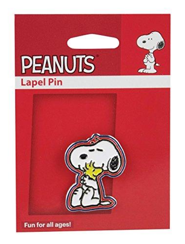 Lapel Pin - Woodstock & Snoopy / 1.25