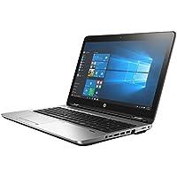 HP ProBook 650 G3 Business Laptop: 15.6 FHD (1920x1080), Intel Core i5-7200U, 256GB SSD, 8GB DDR4, DVD-RW, Windows 10 Pro (Certified Refurbished)