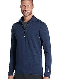 Jockey Men's Sportswear Textured Half Zip