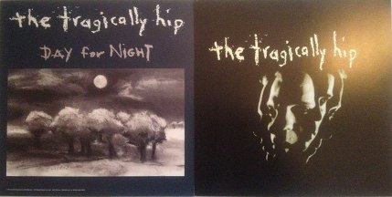 Tragically Hip Day For Night poster flat