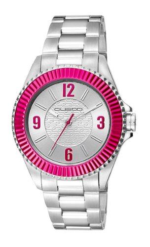 Relojes Mujer Custo on time CUSTO ON TIME PYRAMID CU047202: Amazon.es: Relojes