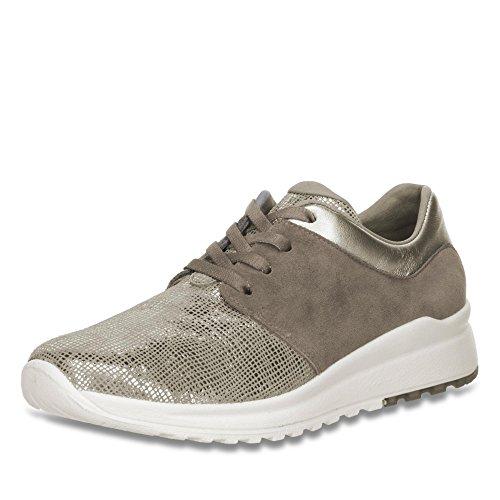 Silver Peltro 00896 2 Femme grau Sneaker 06 Legero wgFYXPqx