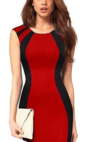 Floral Pencil Colorblock Shift Lace Bemega Pinup Elegant Bodycon Dress qxCUEwFE