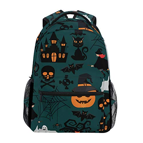 Fashion Laptop Backpack,Halloween Crafts Shoulder Bag for High School/College Student,Travel Bag,14Inch Laptop Sleeve,Perfect for Men and -