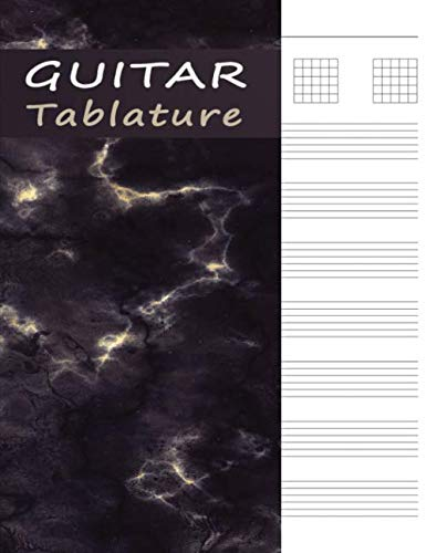 - Guitar Tab Manuscript Book: Tablature Paper for Guitar Music & Songs - Purple Marble (Guitar Music Sheets)