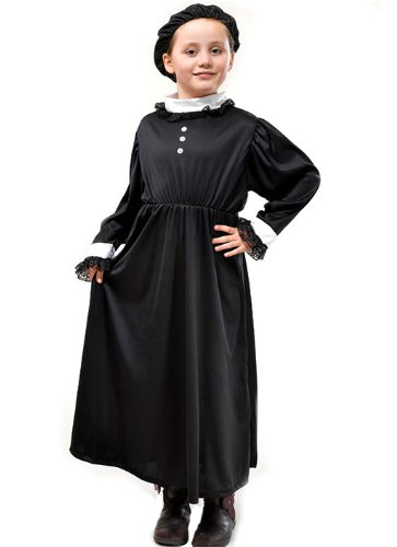 Vintage Style Children's Clothing: Girls, Boys, Baby, Toddler 134cm Black Girls Queen Victoria Costume $17.58 AT vintagedancer.com