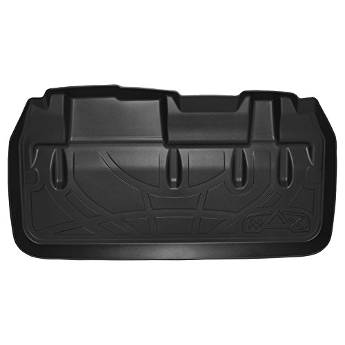 MAXTRAY All Weather Cargo Liner Floor Mat Behind 3rd Row Black for 2011-2018 Toyota (Sand Cargo Mat)