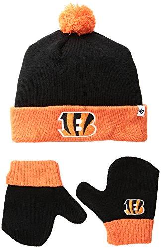 b37e8fa46b0bf Chicago Bears Toddler Beanie   Mittens Set – Football Theme Hats