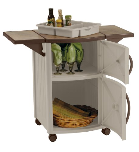 Amazon.com : Suncast DCP2000 Outdoor Prep Station : Outdoor Storage Benches  : Patio, Lawn U0026 Garden