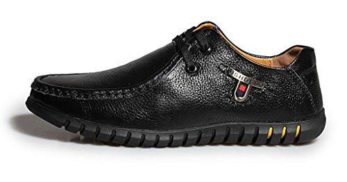 Minitoo , Chaussures à lacets homme - Noir - Nero (nero), 40 EU
