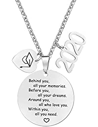 2020 Gaduation Gifts for Her High School Graduation Necklace Congrats Grad Jewelry for Graduates