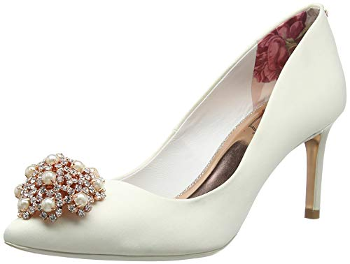 Ted Baker Dahrlin Women's Closed Toe Heels Ivory Ivory White OCqACw6