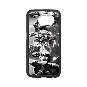 Custom Joker Harley Quinn Design TPU Snap On Case Cover Shell Protector For Samsung Galaxy s6 G9200(Laser Technology)