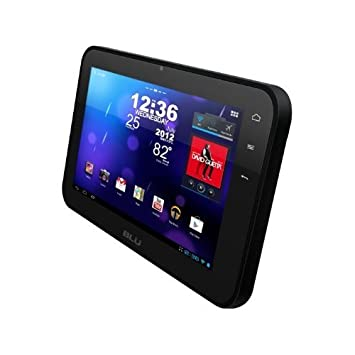 BLU Touch Book 7 0 Lite P50 Tablet PC with Android 4 0 OS,  Multi-Touchscreen, MP3/MP4 Player, Wi-Fi and microSD Slot - Black