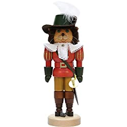 German Christmas Nutcracker Puss in Boots - 37,0cm / 14.6inch - Christian Ulbricht