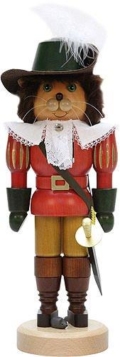 German Christmas Nutcracker Puss in Boots - 37,0cm / 14.6inch - Christian Ulbricht
