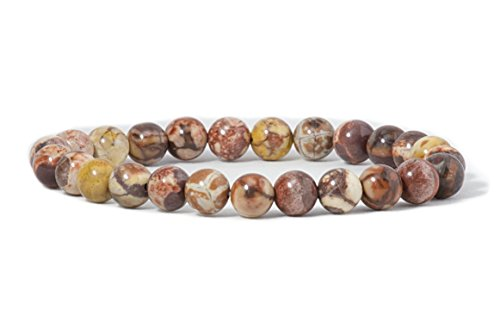 cherry-tree-collection-natural-semi-precious-gemstone-beaded-stretch-bracelet-8mm-round-beads-7-bird