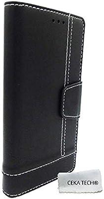 Funda Compatible con QILIVE Smartphone 5.5 4G - Negro: Amazon.es ...