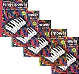 Fingerpower 5 Book with CD Set: Primer Level to Level 4