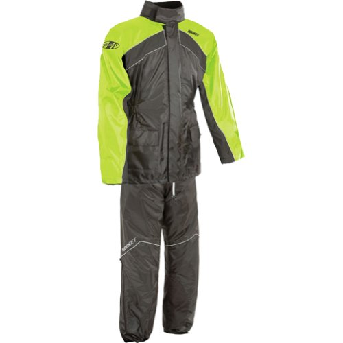 Joe Rocket RS-2 Men's 2-Piece Street Racing Motorcycle Race Suit - Hi-Viz/Neon/Large - Lady Leather Race Suit