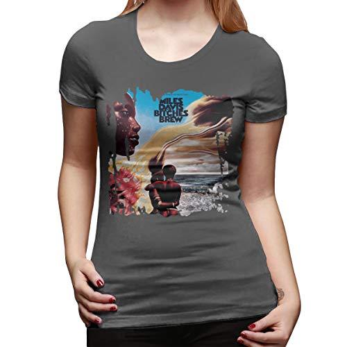 Women's T Shirt Miles Davis Bitches Brew Large