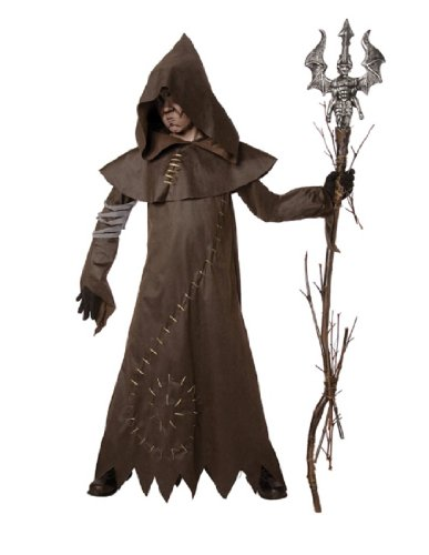 Evil Warlock Child Costume, Medium (8-10) (Warlock Costumes)