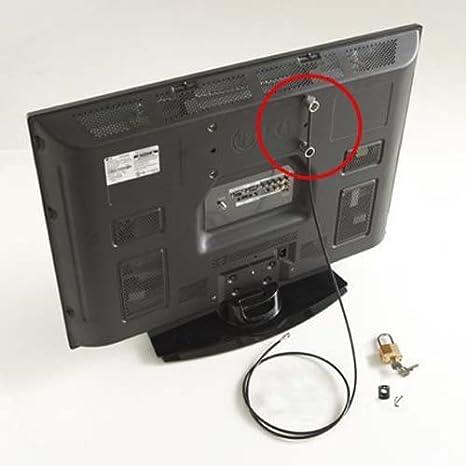 Kit de seguridad antirrobo para Televisor de pantalla plana: Amazon.es: Electrónica