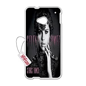 HFHFcase DIY Case for HTC One M7, Selena Gomez HTC One M7 Plastic Case