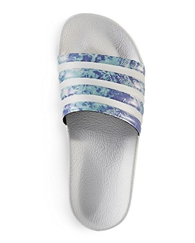 adidas Originals Performance Women's Adilette CP W Poolside Stripe Slide Sandal, 6 D(M) US