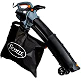 Scotts Outdoor Power Tools BVM23014S 14-Amp 3-in-1 Corded Electric Blower/Vac/Mulcher, Black/Grey