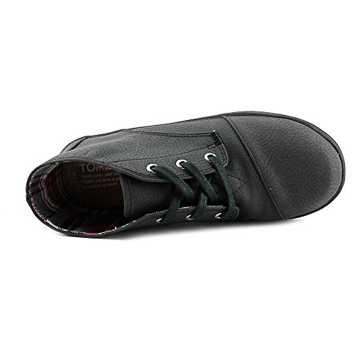 TOMS Kids Unisex Paseo Mid (Little Kid/Big Kid) Black Synthetic Leather 4.5 M US Big Kid - Image 4