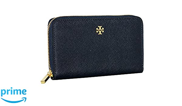 5a917ba56bf Tory Burch Emerson Mini Continental Zip Around Leather Wallet at ...