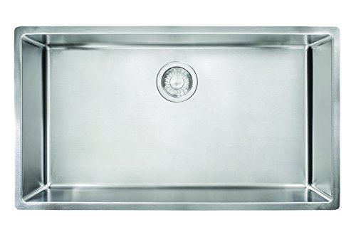 Franke CUX11030 Cube 18G Stainless Steel Single Bowl Kitchen Sink
