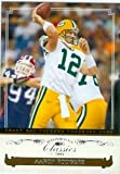 Aaron Rodgers football card (Green Bay Packers) 2006 Donruss Classics #37 Rookie Season